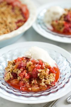 Strawberry Rhubarb Crisp is one of the first things I make every year with produce from our garden. Rhubarb is hardy enough to make an early appearance before almost everything else around here, and since…