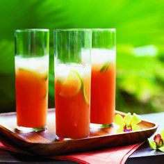 Fast & Fresh summer drinks | Guava-Lime Coolers | Sunset.com