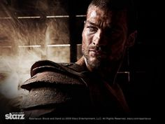 #AndyWhitfield as #Spartacus - #Spartacus:  #BloodandSand