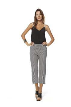 Summer RICCIERI 16 - Fashion pantacourt - culotte - stripes