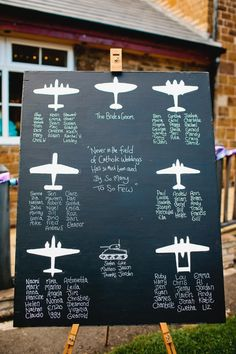 Top Tips - Table Plans