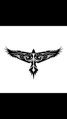 13 Latest Hawk Tattoo Designs And Ideas Tribal Tattoos, Eagle Tattoos, Celtic Tattoos, Viking Tattoos, Trendy Tattoos, Body Art Tattoos, New Tattoos, Tattoos For Women, Celtic Raven Tattoo
