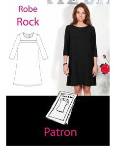 """Patron robe """"Rock"""""""