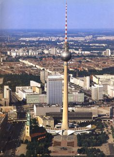 Fritz Dieter, Günter Franke en Kollektiv, Berliner Fernsehturm, 1965-69