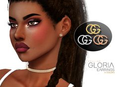 Pralinesims' Gloria Earrings Mod Furniture, Sims 4 Cc Furniture, Download Cc, The Sims 4 Download, Sims 4 Cc Makeup, Best Sims, Sims 4 Mm, Sims Resource, Sims 4 Piercings