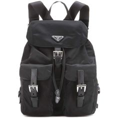 Prada Vela Backpack ( 1,085) ❤ liked on Polyvore featuring bags, backpacks,  backpack 0a7f79fdec
