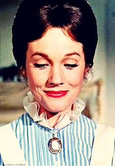 If we could all be a littls more like Mary Poppins :-) practically perfect