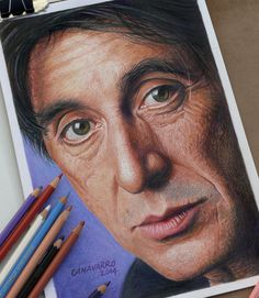 High Detailed Portraits Drawn With Colored Pencils By Nestor Canavarro. | Bored Panda