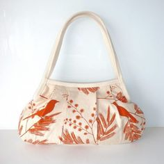Ink & Spindle print shoulder bag. By Tilburg.