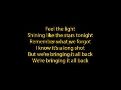 jennifer lopez - feel the light lyrics (full song) => someone make an amv of this please? Jennifer Lopez Lyrics, Stars Tonight, Best Songs, Awesome Songs, Long Shot, Do You Remember, Zumba, Feel Better, My Music