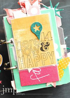 did you see this at MyCraftChannel this week? it's the Desktop Calendar from the JoAnn Collection. heidi shares by way of video in her own 'make pretty stuff' way... and she gives me a little o' shou