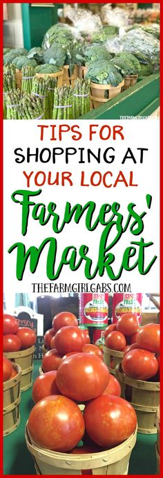 10 Farmers' Market Tips For A Fresh Shopping Experience.