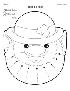 1000 images about st patrick 39 s day on pinterest st for Leprechaun mask template
