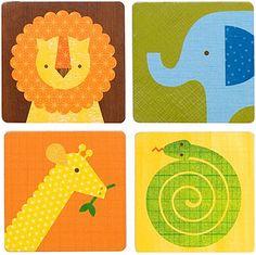 Leeuw olifant giraf slang