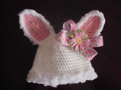 Spring Fuzzy Bunny Hat     https://www.facebook.com/#!/theperfectknotforyou