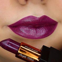 @Liplandcosmetics Purple Velvet Brilliant Cream Lipstick