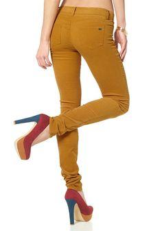 Materialzusammensetzung , Obermaterial: 98% Baumwolle, 2% Elasthan, |Material , Baumwollmischung, |Materialart , Cord, |Materialeigenschaften , Hautfreundlich - weil schadstoffgeprüft, Stretch, |Optik , unifarben, |Stil , Basic, |Leibhöhe , niedrig, |Beinabschluss , ohne Bündchen, |Beinform , extra-eng, |Passform , extraeng, |Schnittform Länge , lang, |Länge der Gürtelschlaufe , 6 cm, |Taschen ...