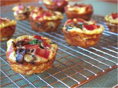 lunchbox ideas, Egg and Cheese muffins