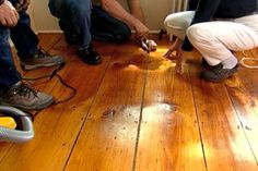 with Contractor Tom Silva | thisoldhouse.com | from How to Fill Gaps In a Wide-Plank Wood Floor