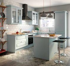 Sueña tu #cocina y apuesta por un estilo #retro.#leroymerlin #Gales #ideasconvida #micasa #renueva
