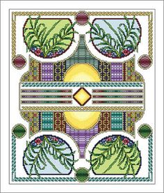 Cross Stitch Craze: Celtic Cross Stitch Twelve A Monthly Theme - August- See all 12 beautifully themed months here.