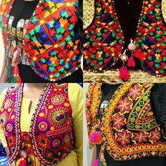 email me at sajsacouture@gmail.com for these beautiful phulkari vests…