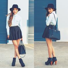 Blouse and Skirt  http://lifeandcity.tumblr.com