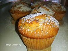 Betty's Cuisine: Muffins με σταφίδες