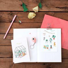 Mademoiselle Fleur de Saperlipapier : Une box DIY & papeterie Bullet Journal Journaling, Origami, Mademoiselle, Fun Crafts, Code Promo, Moment, Hui, Illustration, Blog