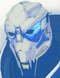 """Garrus - """"Gray, I don't know what to do with gray."""""""