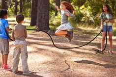 Remember those jump rope rhymes that were so much fun when you were a kid? It's fun to teach them to the grandchildren. Just take it easy on the jumping.
