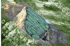 #JAKOV #CREATURE #2014 #RT #GREEN #ROCK #DIRTY #THROW-UP #ВсёТотЖеБерег
