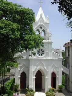 Beautiful Catholic church on Gulangyu Island