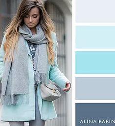 Как правильно сочетать цвета в одежде? Самые модные оттенки сезона и их сочетания. Официальный сайт.