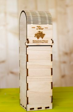 Wooden Wine Box for Single Bottle