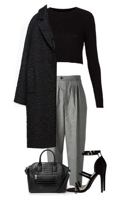 """Untitled #2006"" by officialnat ❤ liked on Polyvore featuring Yves Saint Laurent, Topshop, Zara and MANGO"