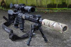 Mk12 Mod 1 SPR with U.S. Optics SN-3 T-PAL 1.8-10x37mm C2 reticle