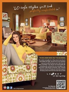 La-Z-Boy - Official La-Z-Boy Website  And you thought La-Z-Boy furniture was clunky! I love the new style of La-z-boy!