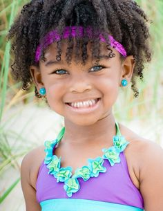cute kids with curly hairstyles