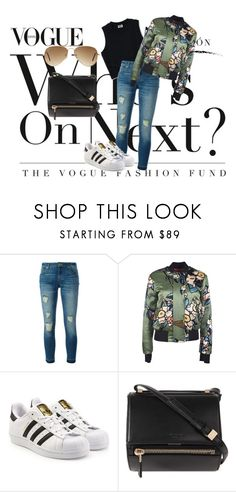 """""""Bomber jacket"""" by amra-mujcic on Polyvore featuring moda, MICHAEL Michael Kors, Dsquared2, adidas Originals, Givenchy i Ray-Ban"""