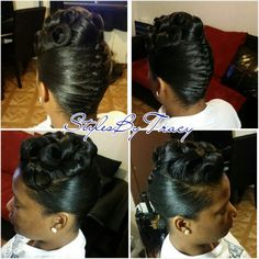 African American French Roll Hairstyle Other Images In This