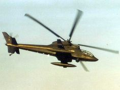The original  Sikorski Blackhawk, the S-67 gun ship of the 1970's.  I saw this demonstrated at Middle Wallop in the Early 70's during its sales tour.  It crashed a year or so later at Farnborough killing both pilots.  Never entered service and the Blackhawk name was eventually used for the Sikorski UH-60