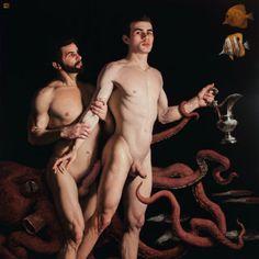 possolo:  Carlos BARAHONA POSSOLLO. Pelops and Poseidon [oil on canvas], 2012.