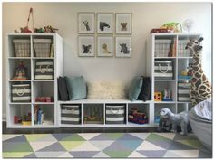 Simple Playroom Ideas for Kids (33)