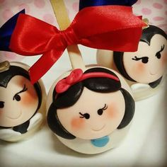 Princess Snow White & Wicked Witch Cake Pops