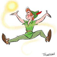 Peter Pan by Steve Thompson [©2016]