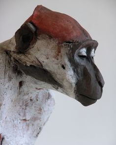 nichola theakston ceramics - new work. Mangabey No 1