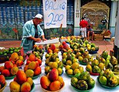 Vila Madalena market in São Paulo, Brazil