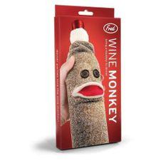Wine Monkey - World Market Monkey World, Wine Bottle Covers, Unique Christmas Gifts, Christmas Stuff, Xmas, World Market, Bottle Holders, Wine Gifts, Stocking Stuffers