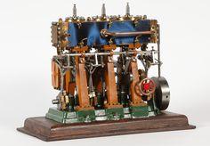 O. B. Bolton Triple Expansion Marine Steam Engine Model ...